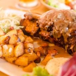 Pork Shank and Tirolese Potatoes
