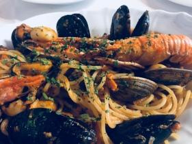Spaghetti al Mare(Seafood Spaghetti)