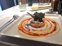 Shrimp tartare 1