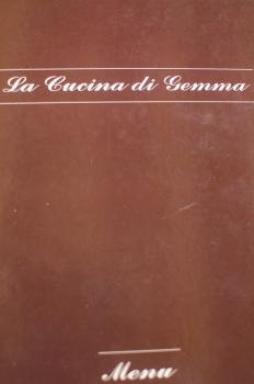 Menu Front - Gemma's Kitchen