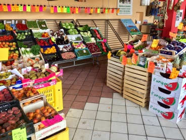 Gemma's produce stand