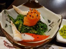 seaweed seafood salad
