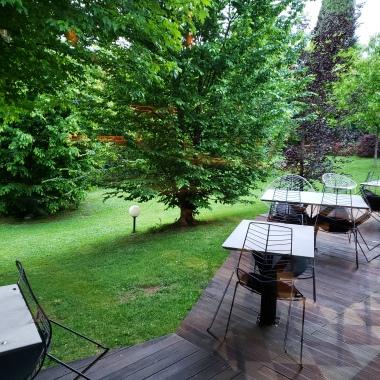 back terrace patio