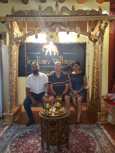 Viki, me and Wife Ninto
